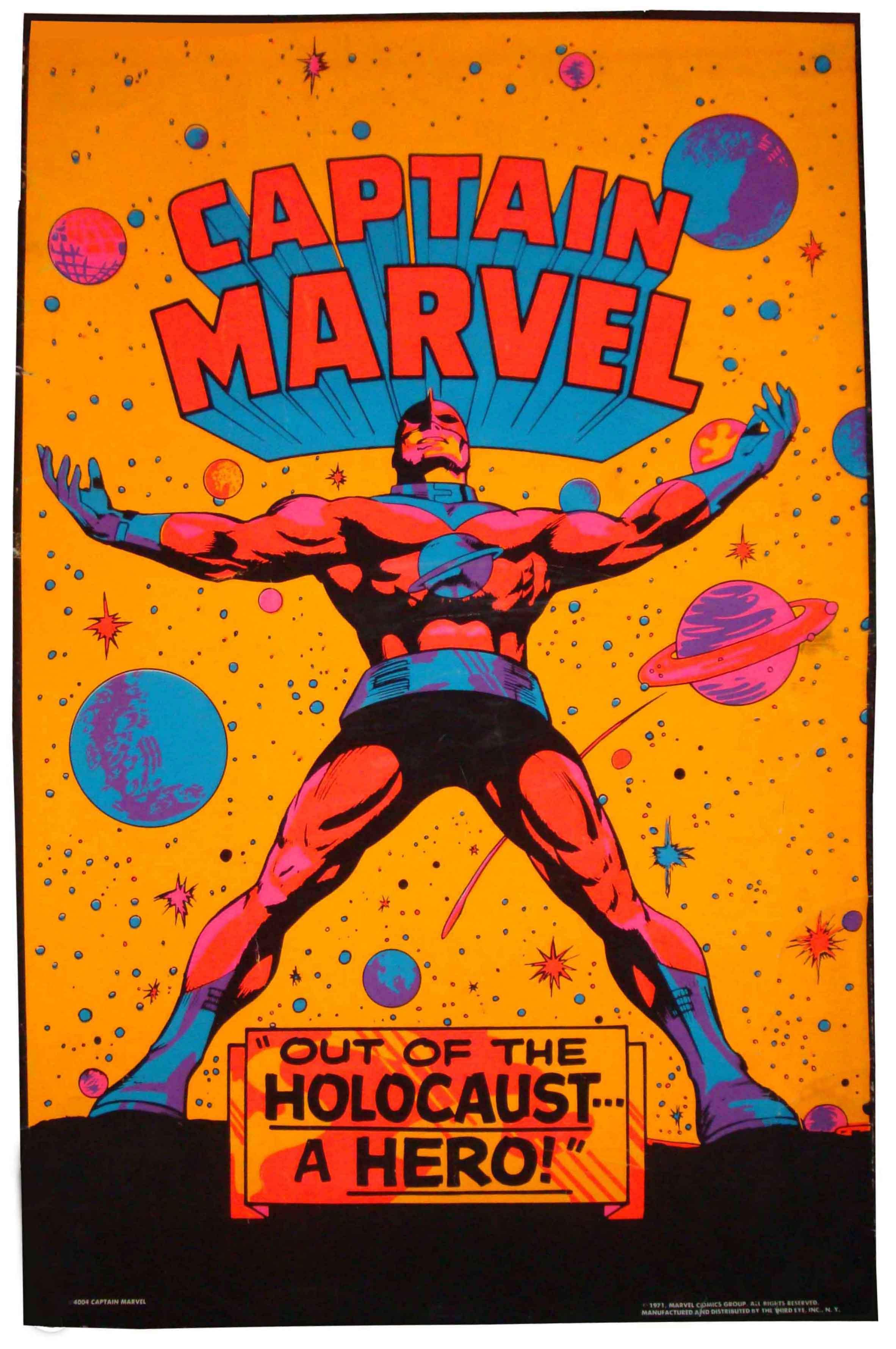 captain marvel poster usa