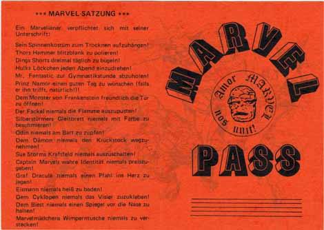 Marvel-Pass