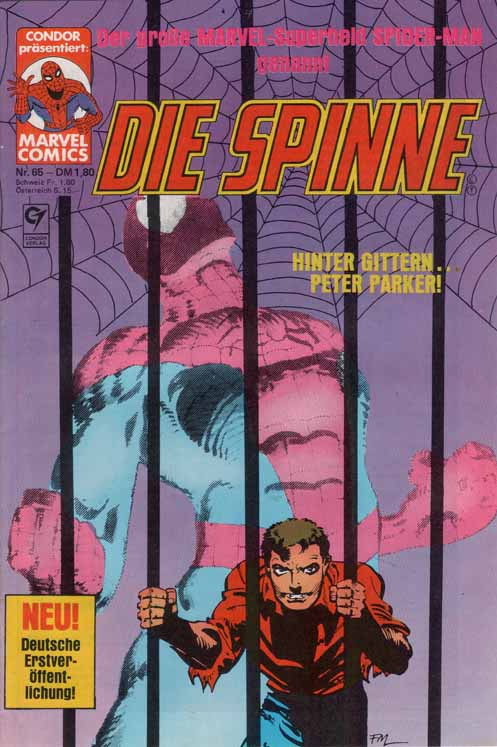 Die Spinne Condor Cover