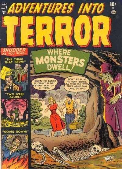Adventures into Terror Cover