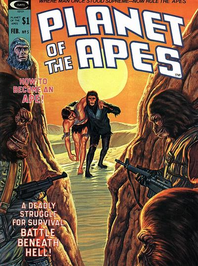 Planet of the Apes Cover