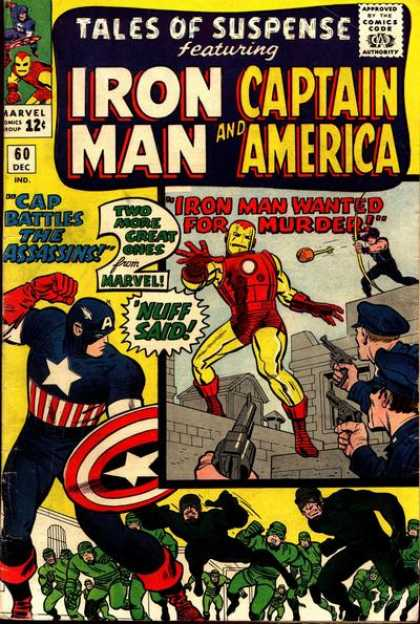 Tales of Suspense Cover