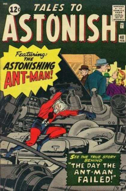 Tales to Astonish Marvel Cover